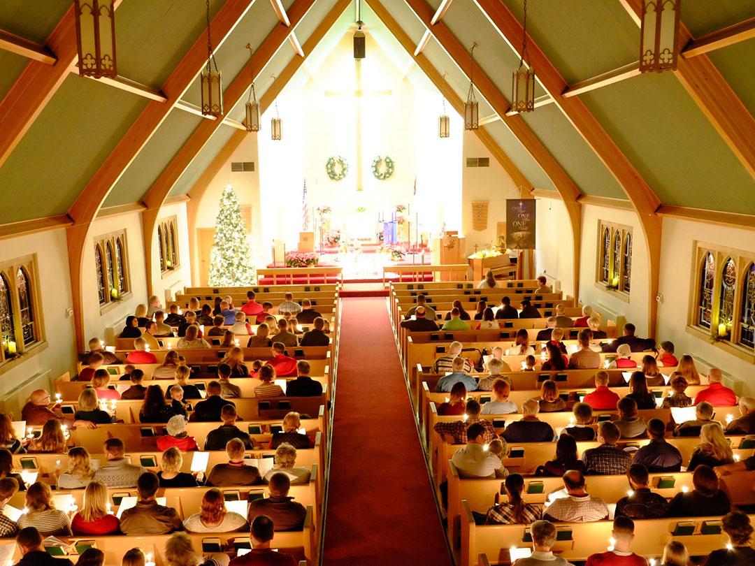 Christmas Eve at Good Hope Lutheran Church
